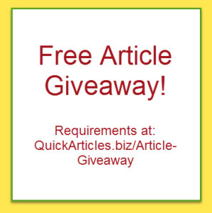Free Articles Giveaway