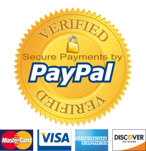 Pricing collected and secured by Paypal